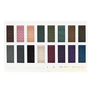 L.A. Colors 16 Color Eyeshadow Palette, Smokin- .95 oz