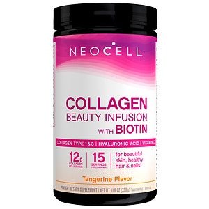NeoCell Beauty Infusion Refreshing Collagen Drink Mix, Tangerine Twist