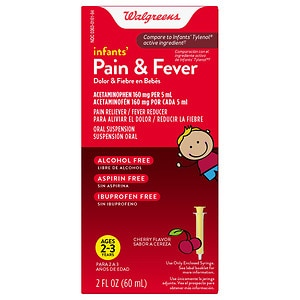 Walgreens Infant Pain/Fever Reducer, Cherry- 2 oz
