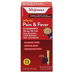 Walgreens Infants' Pain & Fever Reducer, Grape- 2 oz