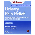 Walgreens Urinary Pain Relief Tablets- 30 ea