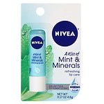 Nivea Lip Care A Kiss of Mint & Minerals Refreshing Lip Care- .17 oz