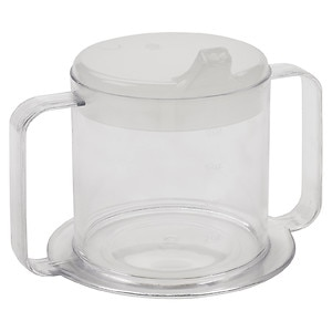 Lifestyle Essentials Lifestyle Handle Cup, Clear