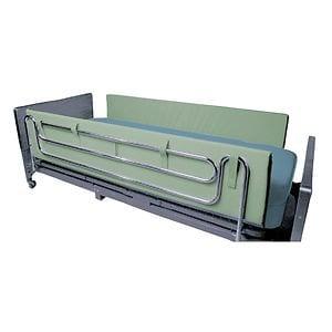Mason Medical Foam Side Rail Bumper Pads, Green, 48 Inch- 1 ea