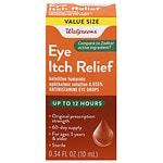 Walgreens Eye Itch Relief Drops- .17 fl oz