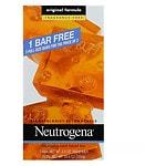 Neutrogena Transparent Facial Bar Bonus Pack, Original Formula, Fragrance Free- 3.5 oz