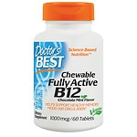 Doctor's Best Quick Melt Fully Active B12, 1000mcg, Tablets