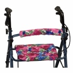 Nova Backrest and Seat Cover, 14 Inch, English Garden- 1 ea