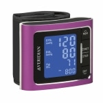 Veridian Healthcare Metallic Style Wrist Blood Pressure Monitor,
