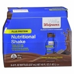 Walgreens Complete Nutritional Shake Plus Protein, 8 oz Bottles, 6 pk, Milk Chocolate- 8 oz
