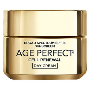 L'Oreal Paris Age Perfect Cell Renewal Moisturizer, Day Cream SPF 15- 1.7 oz