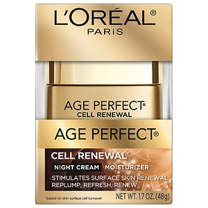 L'Oreal Paris Age Perfect Cell Renewal Moisturizer, Night Cr