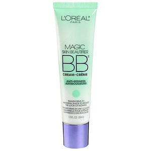 L'Oreal Paris Magic Skin Beautifier B.B. Cream, Anti-Redness- 1 fl oz