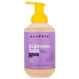 Alaffia EveryDay Shea Foaming Shea Butter Hand Soap, Lavender, 18 oz