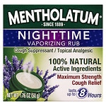 Mentholatum Nighttime Vaporizing Rub Maximum Strength Cough