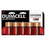 Duracell Quantum Alkaline Batteries, D