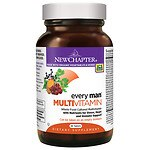 New Chapter Every Man Multivitamin, Tablets- 48 ea