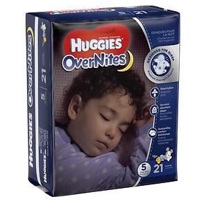 Huggies Overnites Diapers, Jumbo Pack, Size 5