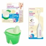Clevamama Infant Formula Feeding Unisex Pack, 3 Pc- 1 ea