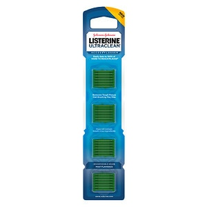 LISTERINE Ultraclean Access Flosser Refill, Mint