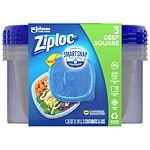 Ziploc Containers, Medium Square- 3 ea