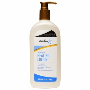 Studio 35 Intensive Healing Lotion With Aloe, 14 oz