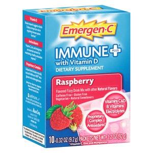 Emergen-C Immune+, Raspberry, 10 ea