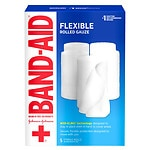 Band-Aid First Aid Covers Kling Rolled Gauze, Large