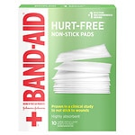 Band-Aid First Aid Covers Non-Stick Pads, Large