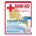 Band-Aid Tough Pads- 4 ea