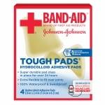Band-Aid Tough Pads- 4 ea