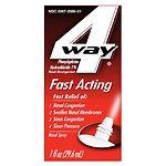4-Way Fast Acting Nasal Spray- 1 fl oz