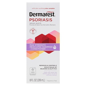 Dermarest Psoriasis Medicated Shampoo Plus Conditioner- 8 fl oz