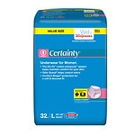 Walgreens Certainty Protective Underwear for Women, Large