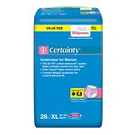 Walgreens Certainty Dri-Fit Underwear for Women, Maximum Absorbency, XL- 28 ea
