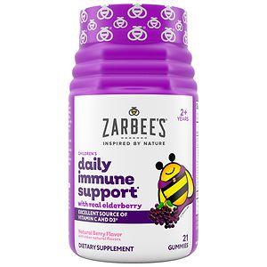 ZarBee's Naturals Mighty Bee Immune Support Gummy, Berry