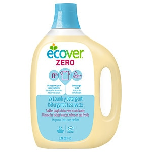 Ecover Liquid Laundry Detergent, 62 Loads, Fragrance Free