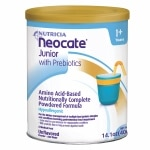 Nutricia Neocate Junior, Amino Acid Based Medical Food, Powder, Unflavored, 1+ Years- 14.1 oz