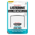 LISTERINE Floss, 55 yds, Cool Mint- 1 ea