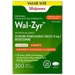 Walgreens Wal-Zyr 24 Hour Allergy Tablets
