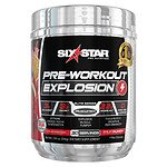 Six Star Pre Workout Explosion, Fruit Punch- .46 lb