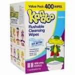 Kandoo Sensitive Toddler Wipes- 400 ea