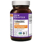 New Chapter Turmeric Force, Vegetarian Capsules- 120 ea