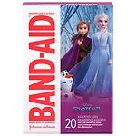 Band-Aid Adhesive Bandages, Disney's Frozen, Assorted Sizes- 20 ea