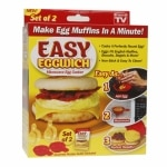 Easy Eggwich Egg Cooker- 2 ea