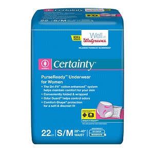 Walgreens Certainty Underwear, Moderate Protection,