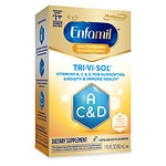 Enfamil Tri-Vi-Sol Supplement Drops, Vitamins A,D & C for Infants- 1.66 fl oz