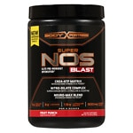 Body Fortress Super NOS Blast, Fruit Punch- 16 oz