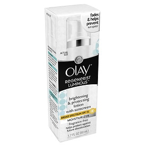Olay Regenerist Luminous Brightening & Protecting Lotion with SPF 15, Fragrance Free