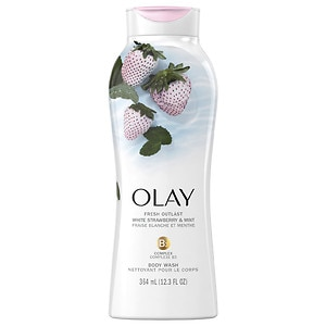 Olay Fresh Outlast Body Wash, Cooling White Strawberry & Mint